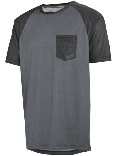 IXS Flow Jersey Men Graphite/Black